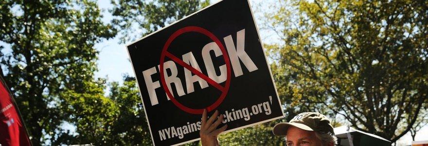 Ar Rusija moka JAV žaliųjų judėjimams už skalūnų dujų paieškų blokavimą?