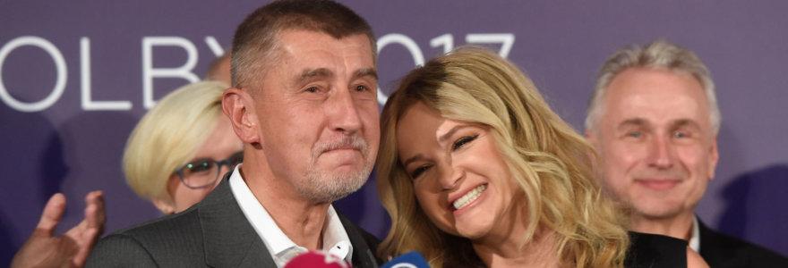 """Čekijos parlamentui vadovaus korupcija kaltinamas ir """"čekų Donaldu Trumpu"""" pramintas milijardierius"""