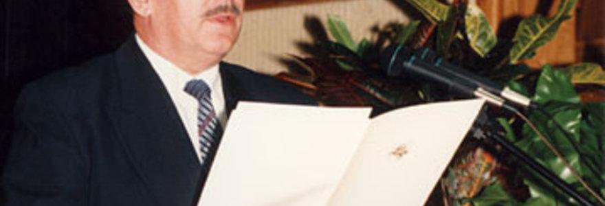 Mirė buvęs Seimo NSGK vadovas Juozapas Algirdas Katkus