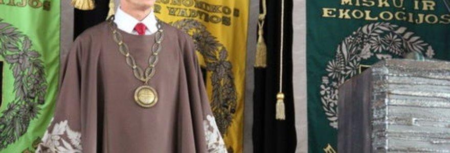 Inauguruotas naujasis ASU rektorius Antanas Maziliauskas