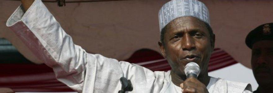 Po ilgos ligos mirė Nigerijos prezidentas Yar'Adua