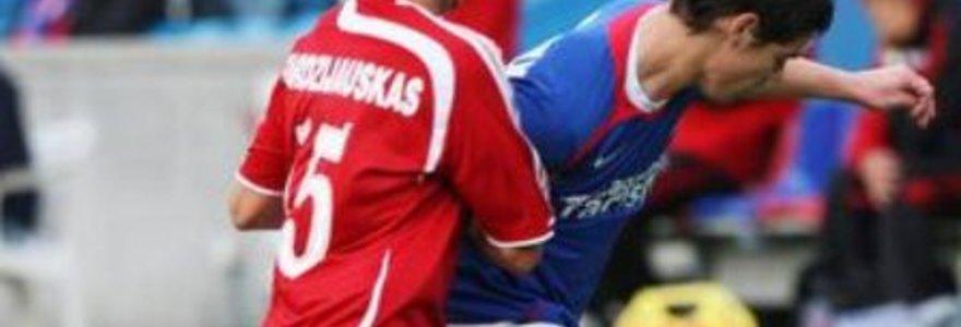 Lietuvos ir Latvijos čempionų dvikovoje – rezultatyvios lygiosios