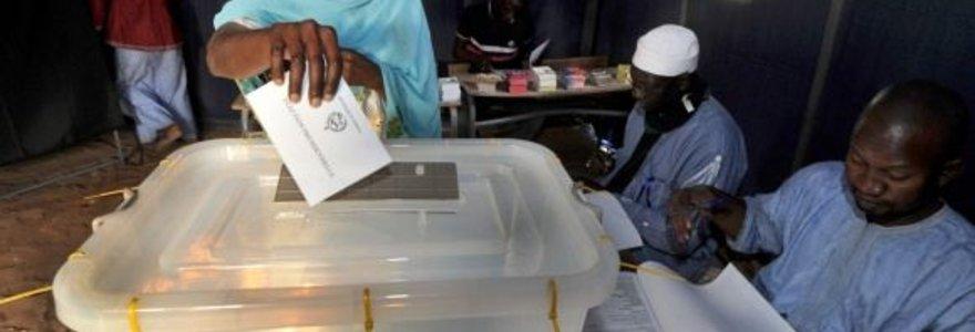 Senegale vyksta prezidento rinkimai