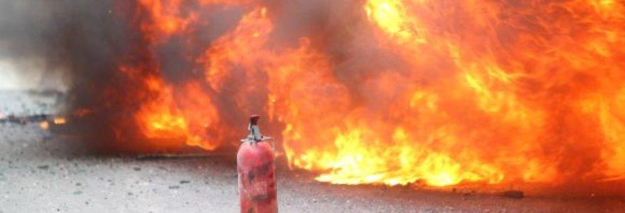 Per tris paras Lietuvoje – 110 gaisrų
