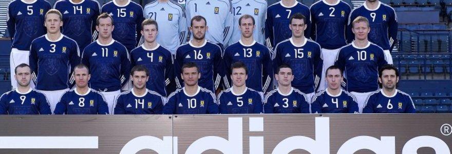 """Škotijos futbolo rinktinėje dvikovai su Lietuva – devyni anglų """"Premier"""" lygos žaidėjai"""