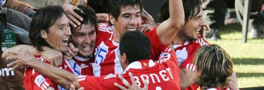 Paragvajus nubaudė pasyviai rungtyniavusius slovakus (nuotraukos, statistika, komentarai)