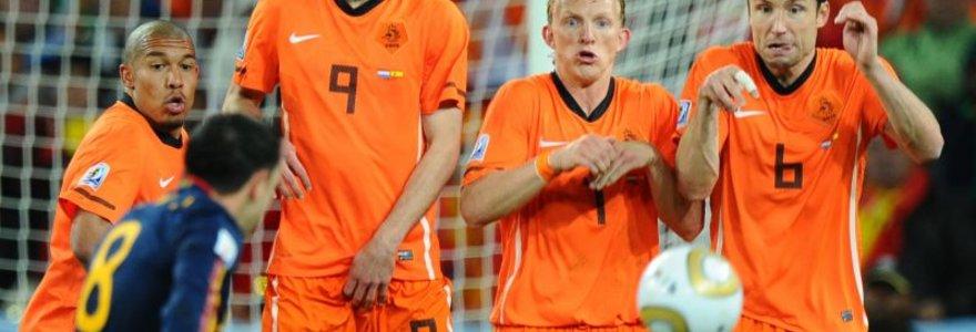 Paskelbtos Olandijos, Prancūzijos ir Italijos futbolo rinktinių sudėtys