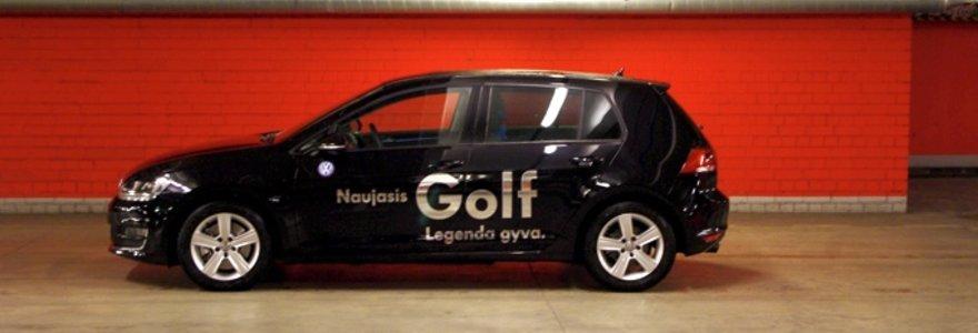 "Apdovanojimų vertas ""Volkswagen Golf"""