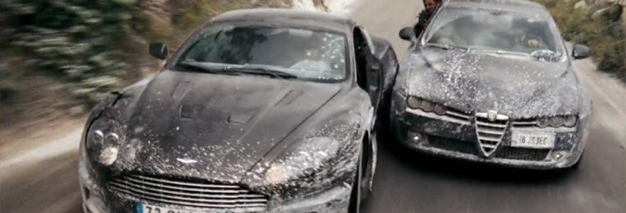 Jameso Bondo filmuose matytos gudrybės, kurių norėtų kiekvienas fantaziją turintis vairuotojas