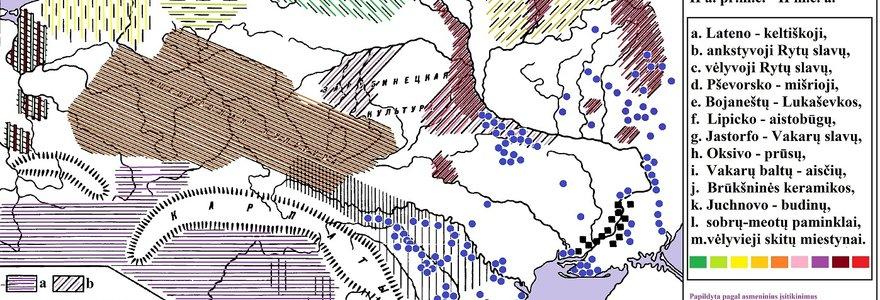 Valstybės ištakos: slavų, prūsų ir aisčių gentys archeologijos duomenimis