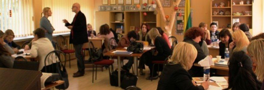 Pestalozzi programos kvalifikacijos kėlimo mokymai Vilniaus Saulėtekio vidurinėje mokykloje