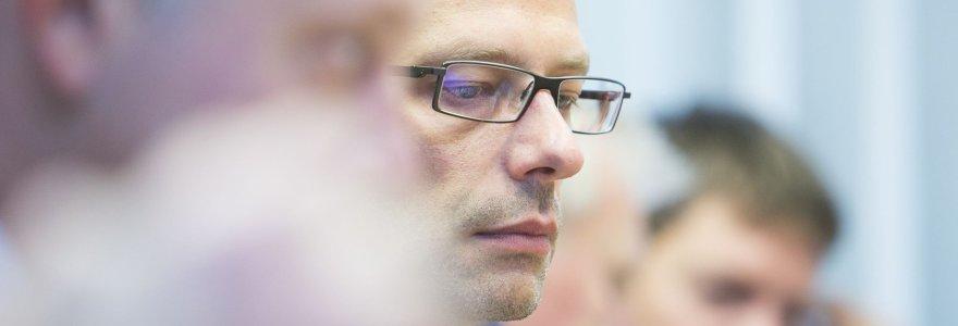 Liberalų sąjūdis iš partijos pašalino Šarūną Gustainį, jis traukiasi iš sostinės tarybos
