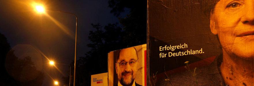Paskutinės rinkimų kampanijos dienos Vokietijoje: 5 dalykai, į ką reikėtų kreipti dėmesį