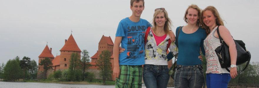 Vakarų Europos moksleivių ambicijos: norime pažinti Lietuvą ir išmokti lietuviškai