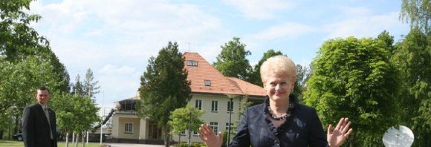 D.Grybauskaitė – nenuspėjama vienišė?