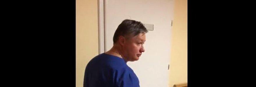 Santaros klinikų vaikų ligoninėje blaškėsi girtas medikas