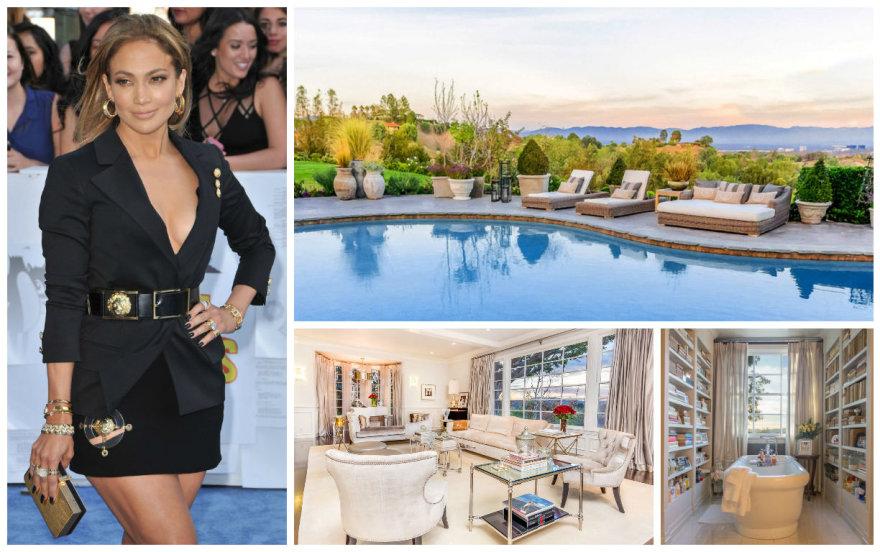 Jennifer Lopez pardavė namą Hiden Hilse