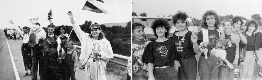 Devintojo dešimtmečio žmonės. Baltijos kelias