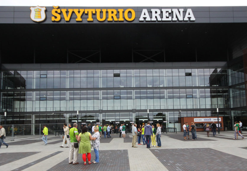 """""""Švyturio"""" arena"""