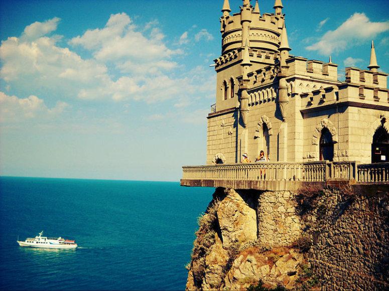 Kregždutės Lizdas Kryme – vienas išraiškingiausių pusiasalio simbolių