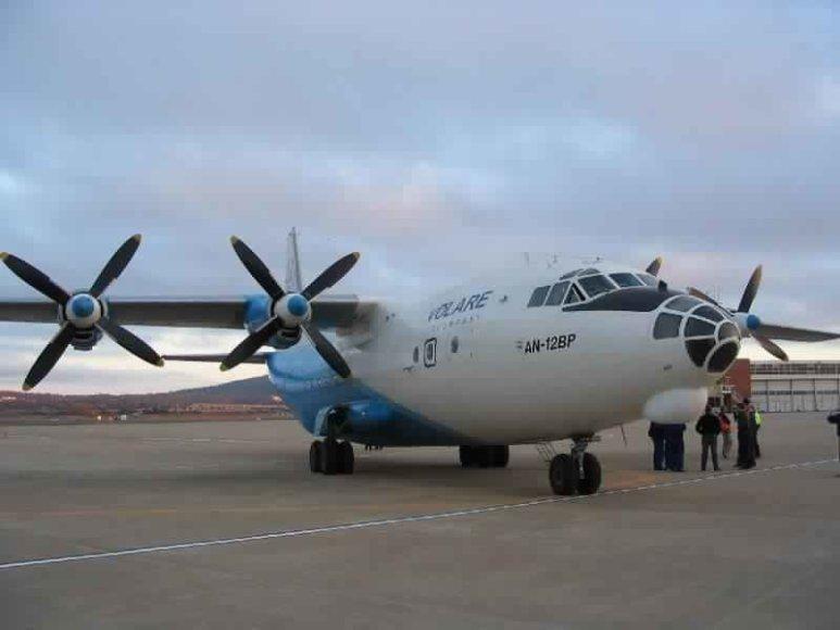 Sudužo Ukrainos keleivinis lėktuvas.