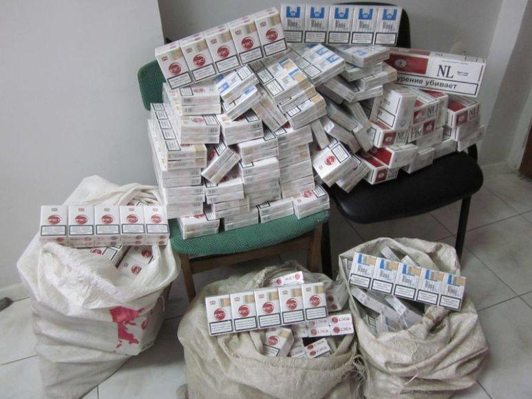 Aptiktos cigaretės