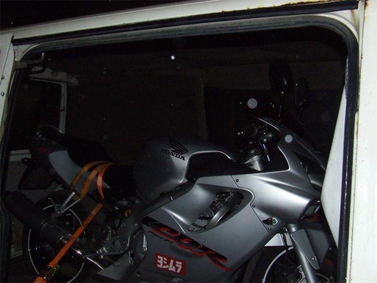 Ieškotas motociklas