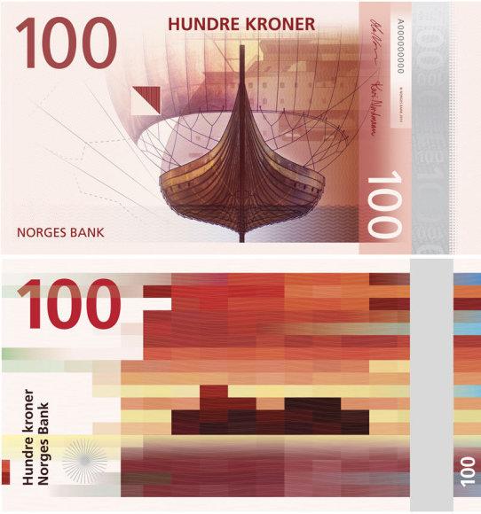 Naujųjų banknotų pavyzdys