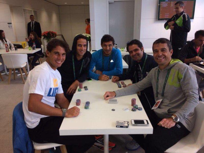 Rafaelio Nadalio pokerio treniruotė