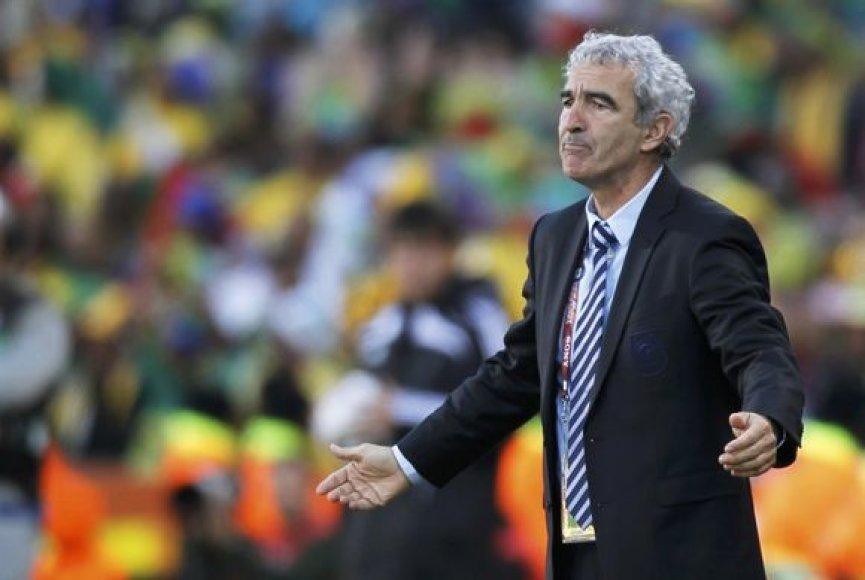 Prancūzų treneris R.Domenechas