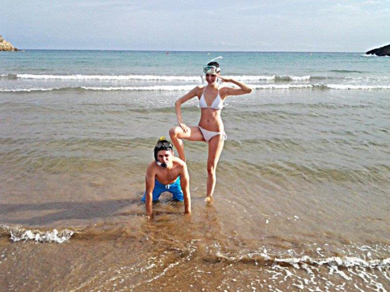 Bikinio porelė: Nastia ir Audrius