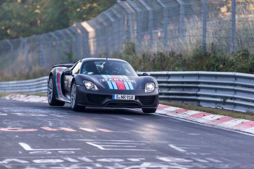 """""""Porsche 918 Spyder"""" Niurburgringe"""
