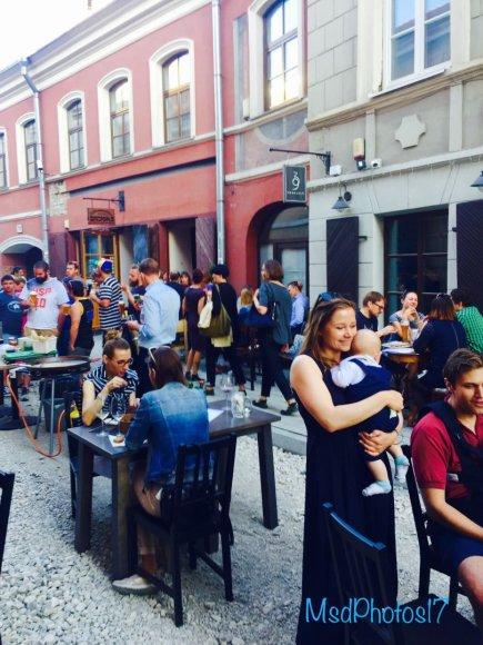 Festivalis Savičiaus gatvėje
