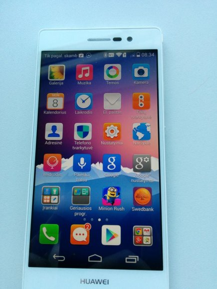"""Huawei Ascend P7"""
