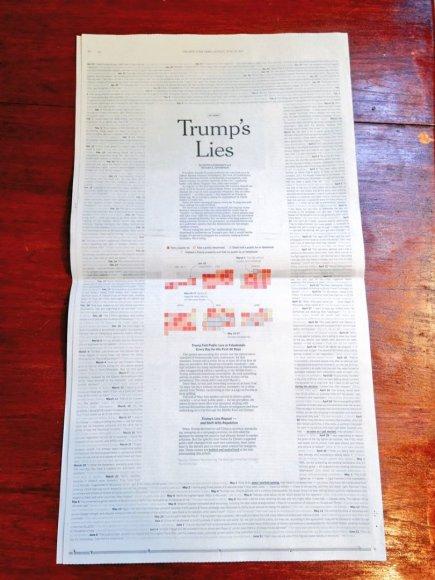 """The New York Times"" puslapis"