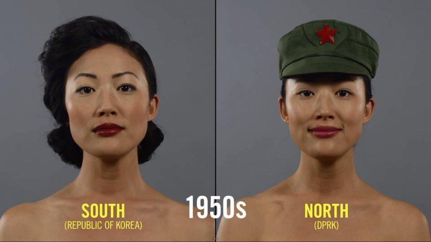 Kaip kito grožio supratimas Pietų ir Šiaurės Korėjose per pastaruosius 100 metų