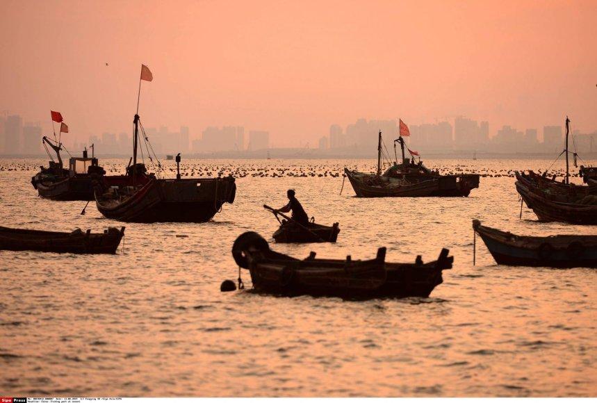 Žvejybos uostas Kinijoje