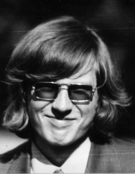 Artūro Žukausko nuotrauką iš 1975 metų.