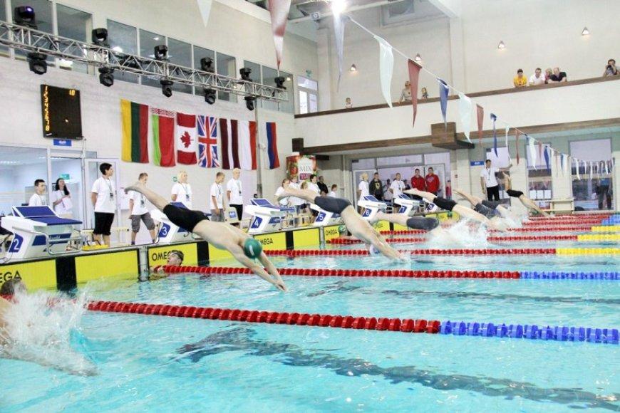 Kauno plaukimo centre
