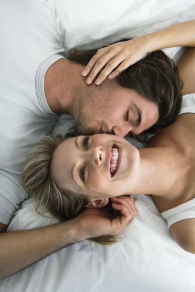 Vida Press nuotr./Laiminga pora lovoje
