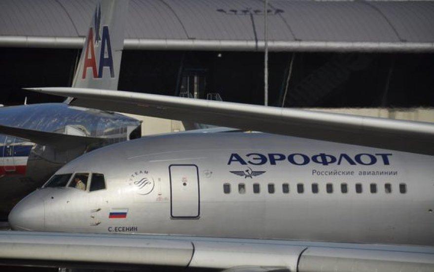 """Oro linijų """"Aeroflot"""" lėktuvams nuo 2012 metų taip pat gali būti uždrasuta leistis Europos oro uostuose."""