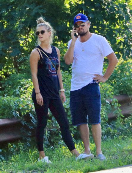 Nina Agdal ir Leonardo DiCaprio