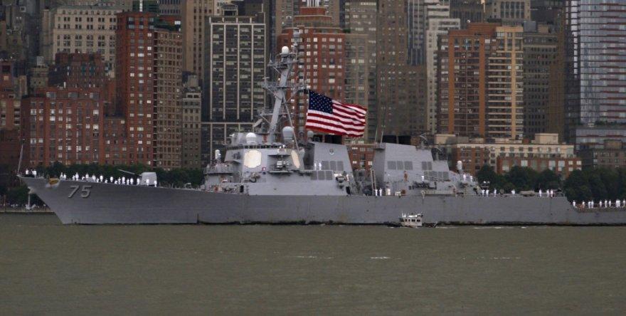 """JAV eskadrinis minininkas """"USS Donald Cook"""""""