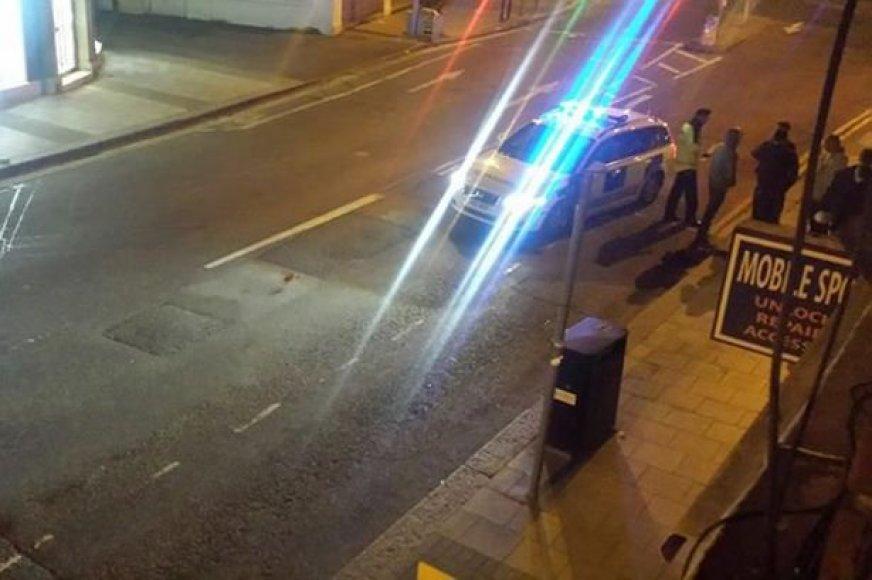 Liudininko užfiksuota greitosios pagalbos automobilio  vagystė