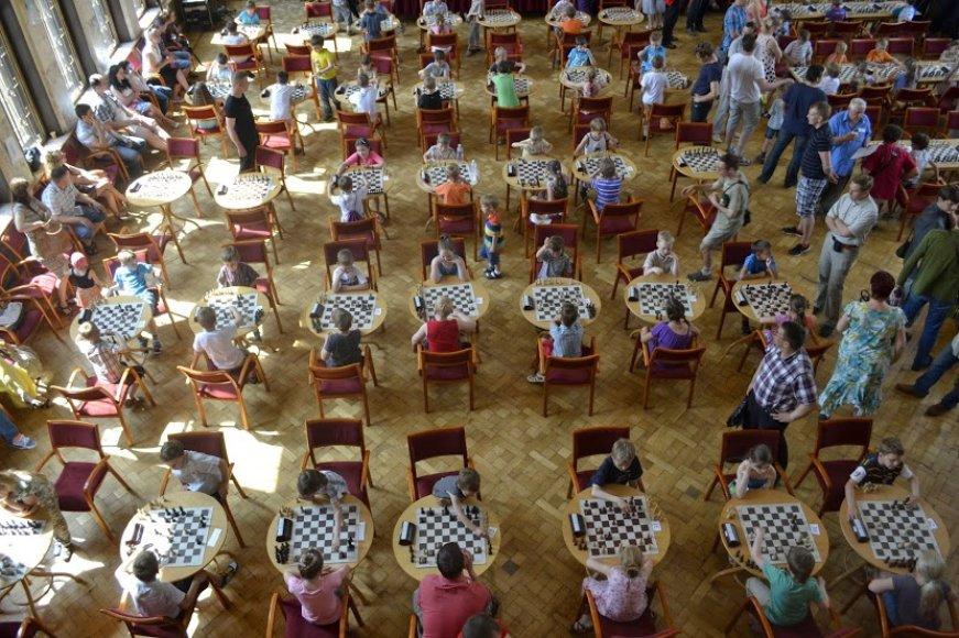 Jaunųjų šachmatininkų varžybos Kaune
