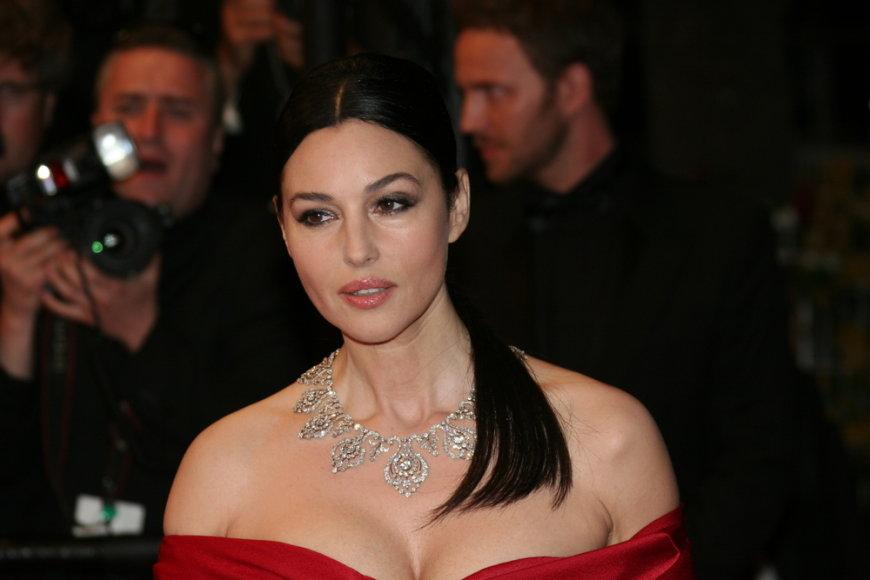 Italų kilmės aktorė Monica Bellucci