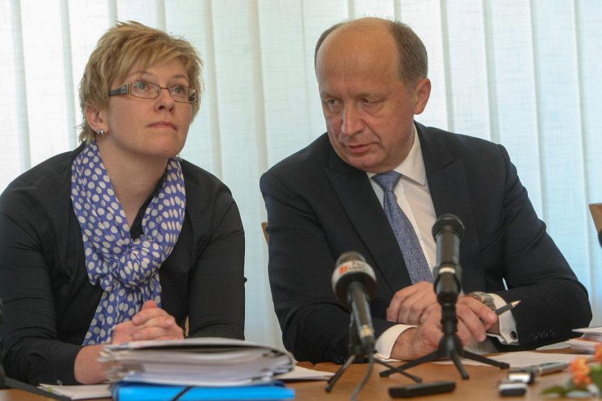 Ingrida Šimonytė ir Andrius Kubilius
