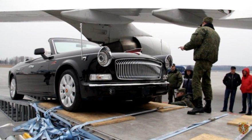 Kinija pagamino Baltarusijai karinius kabrioletus