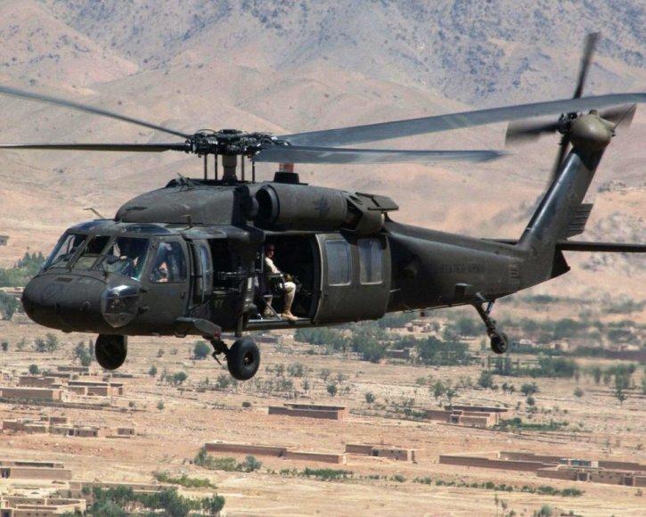 """Sraigtasparnis """"Black Hawk"""""""