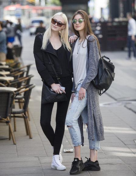Stilingi praeiviai sostinės gatvėse